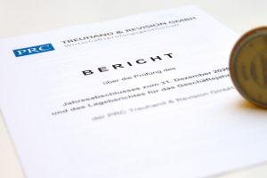 Berichtsdeckblatt Ihrer Bericht Ihrer Wirtschaftsprüfer in Fulda